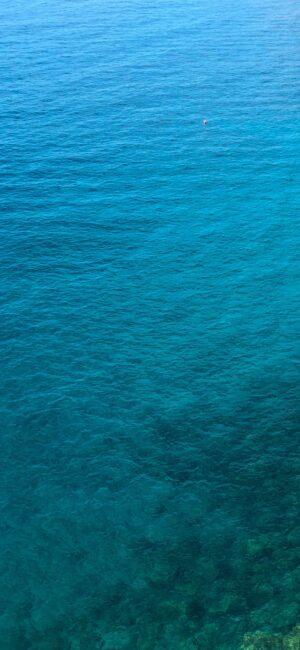 Blue Ocean Phone Background
