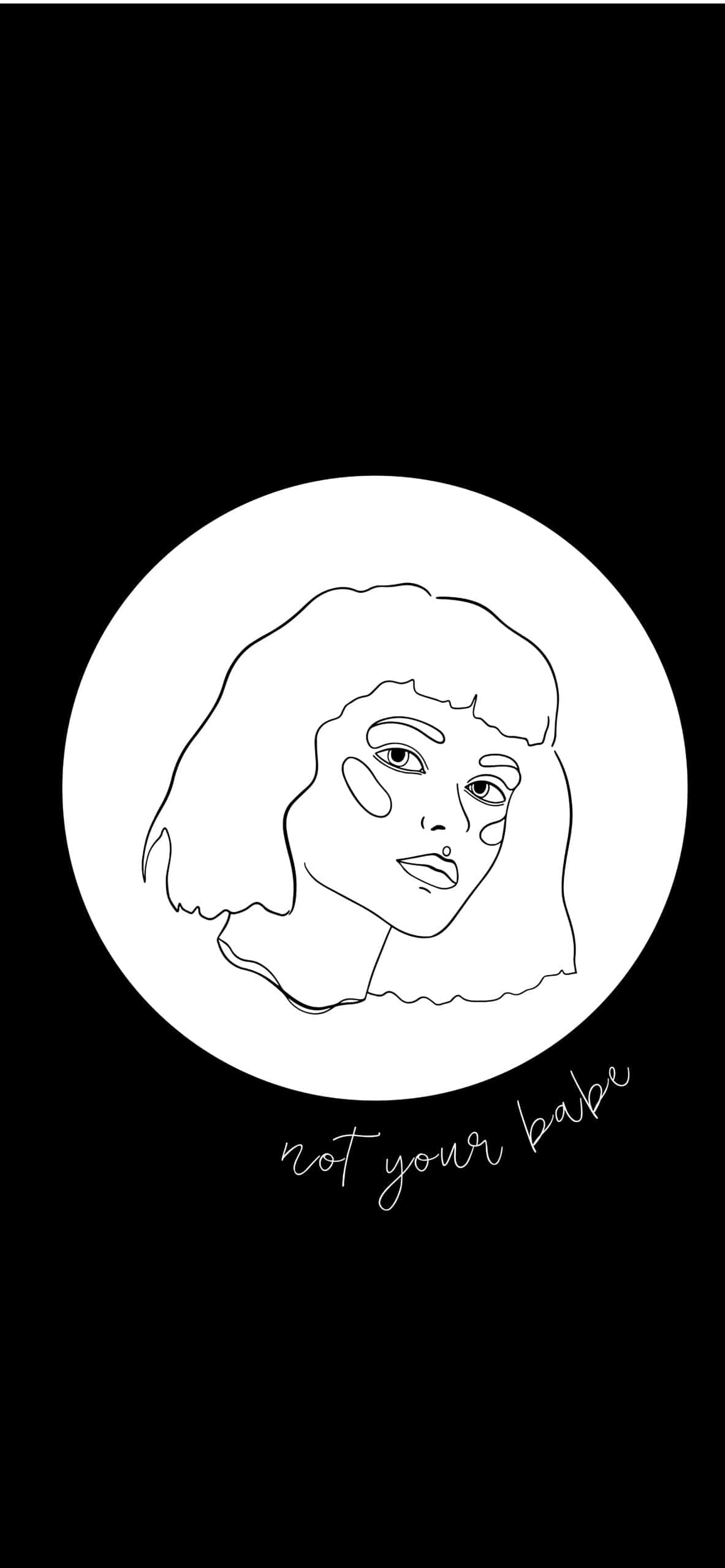 12 Stunning Line Art Girl Iphone Wallpaper And Wall Art You Need To Get