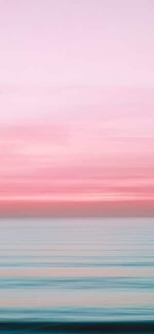 Pink Sea iPhone Wallpaper
