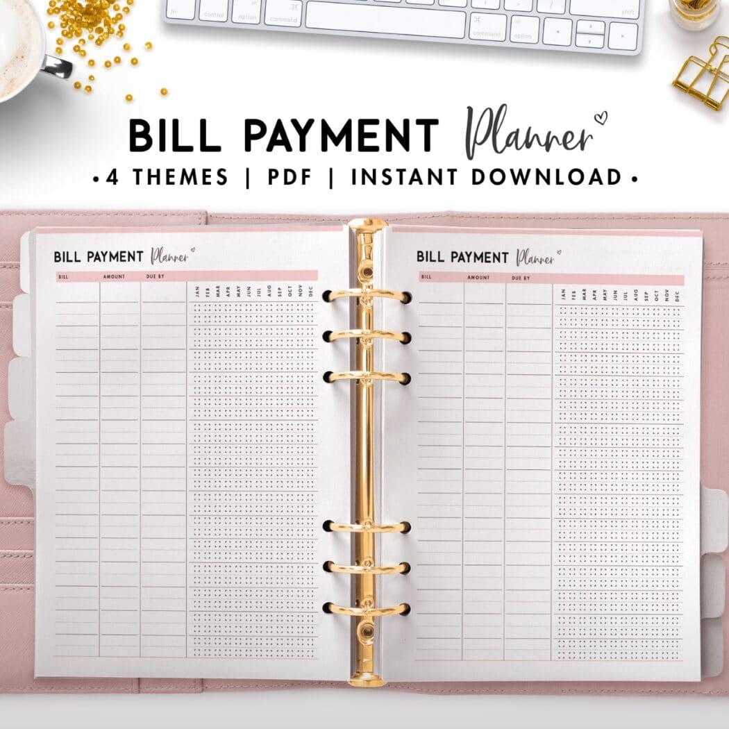bill payment planner - soft