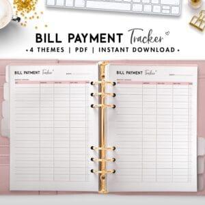 bill payment tracker - soft