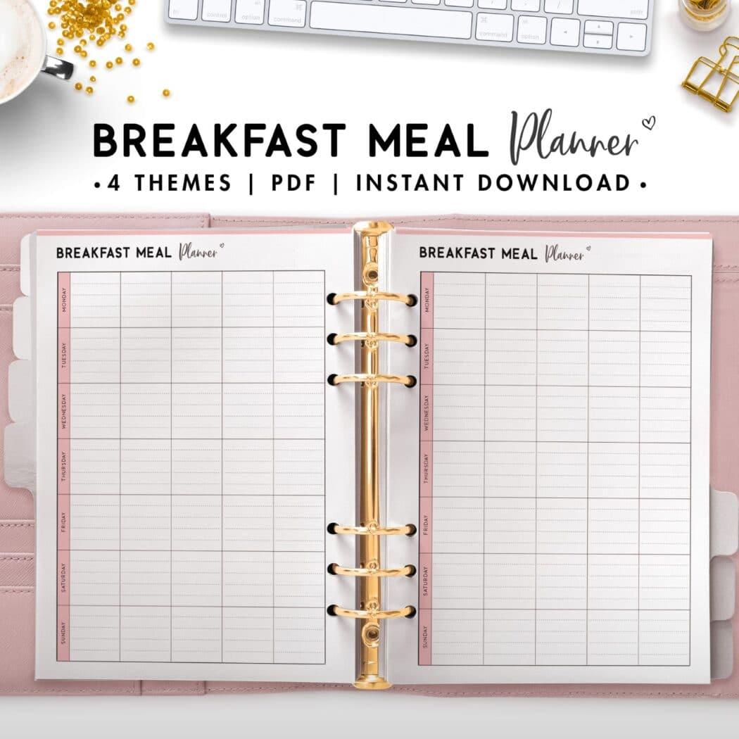 breakfast meal planner - soft