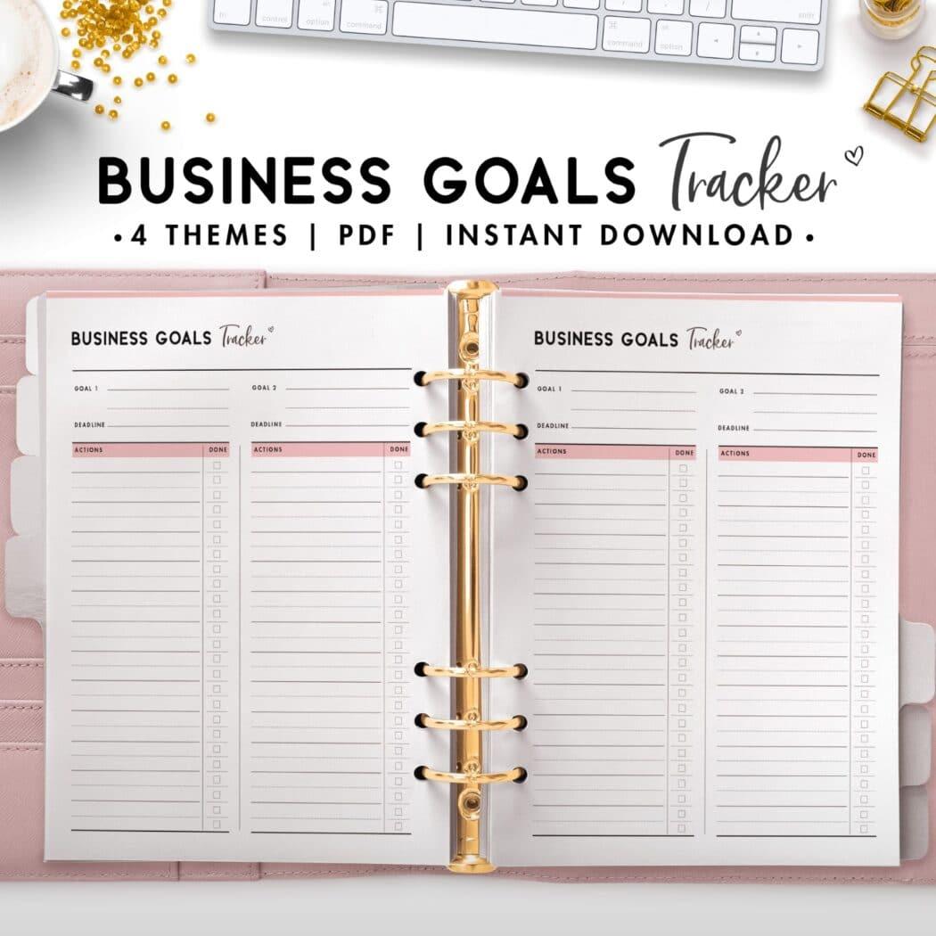 business goals tracker - soft