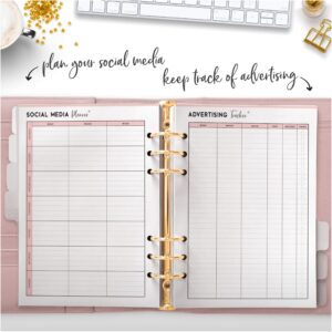 plan your social media keep track of advertising