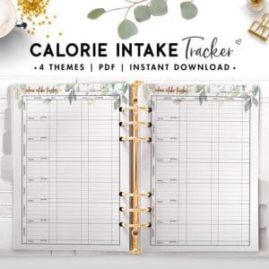 calorie intake tracker - botanical-2