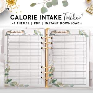 calorie intake tracker - botanical