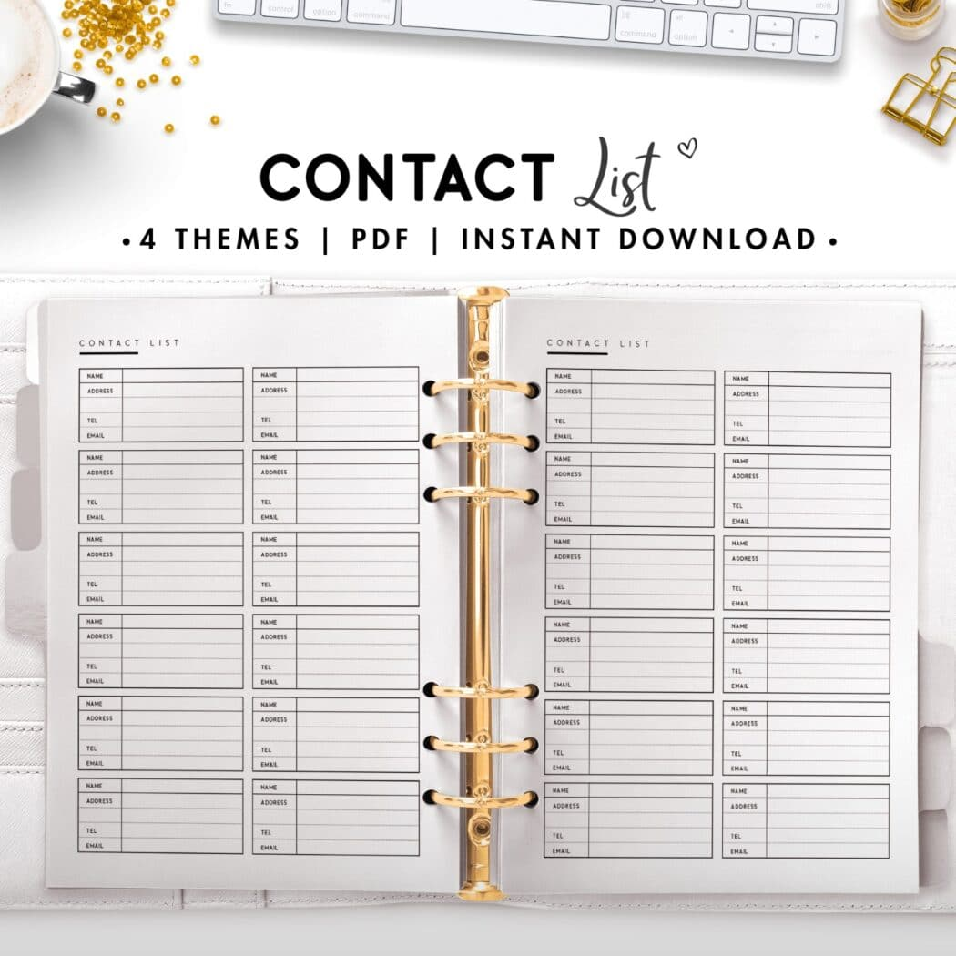 contact list - classic