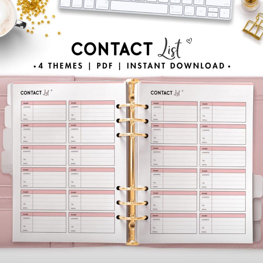 contact list - soft