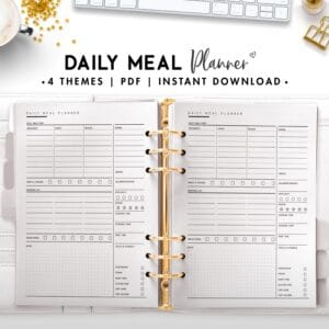 daily meal planner - classic