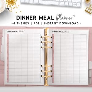 dinner meal planner - soft