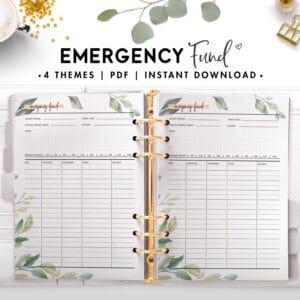 emergency fund - botanical
