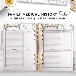 family medical history - botanical