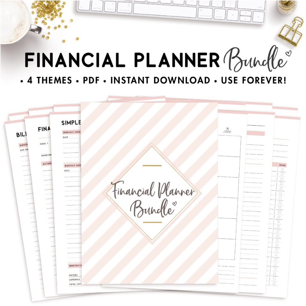 financial planner bundle