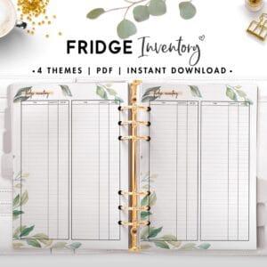 fridge inventory - botanical