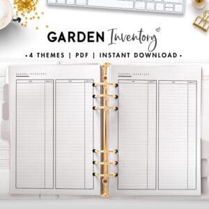 garden inventory - classic