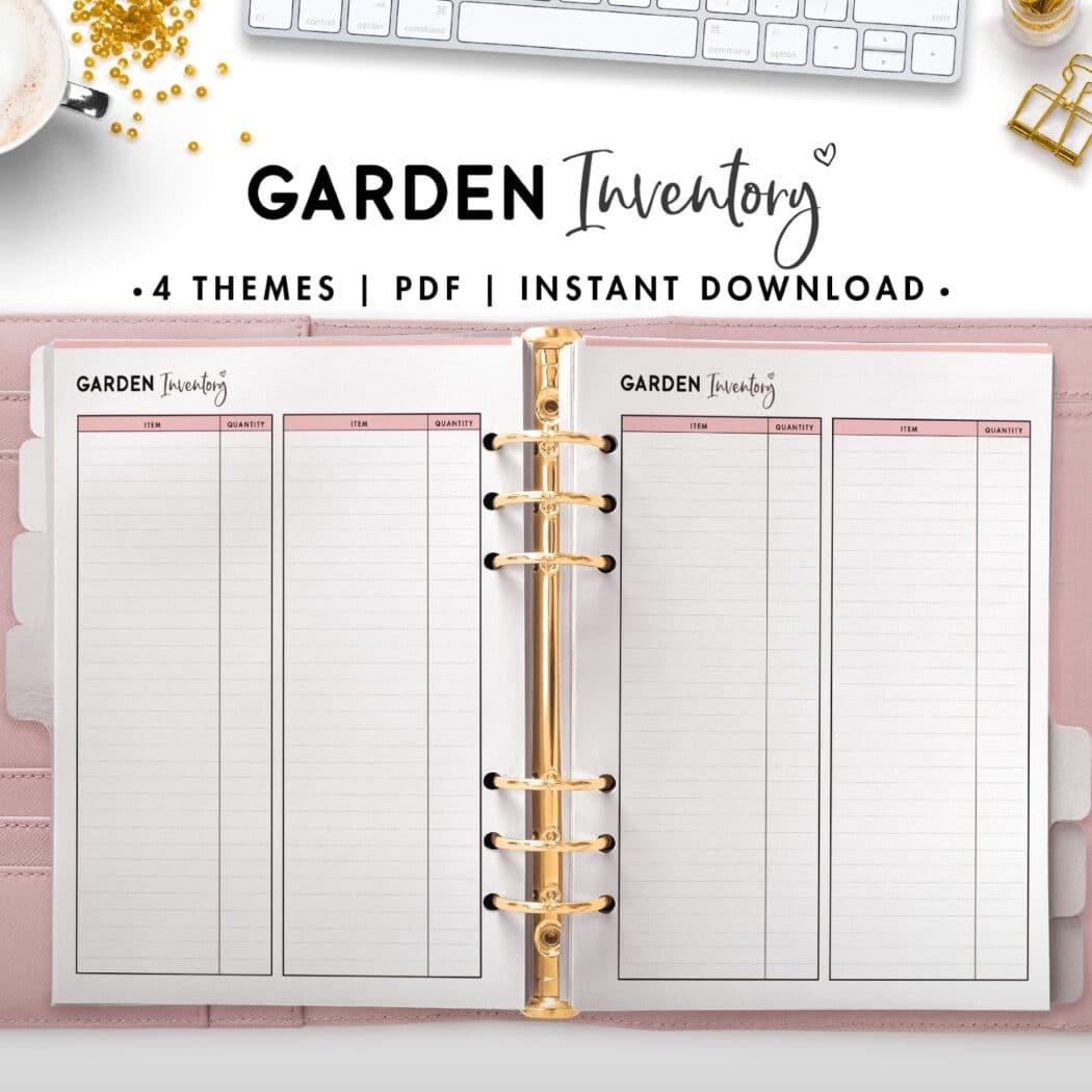 garden inventory - soft