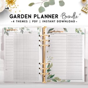 garden planner bundle