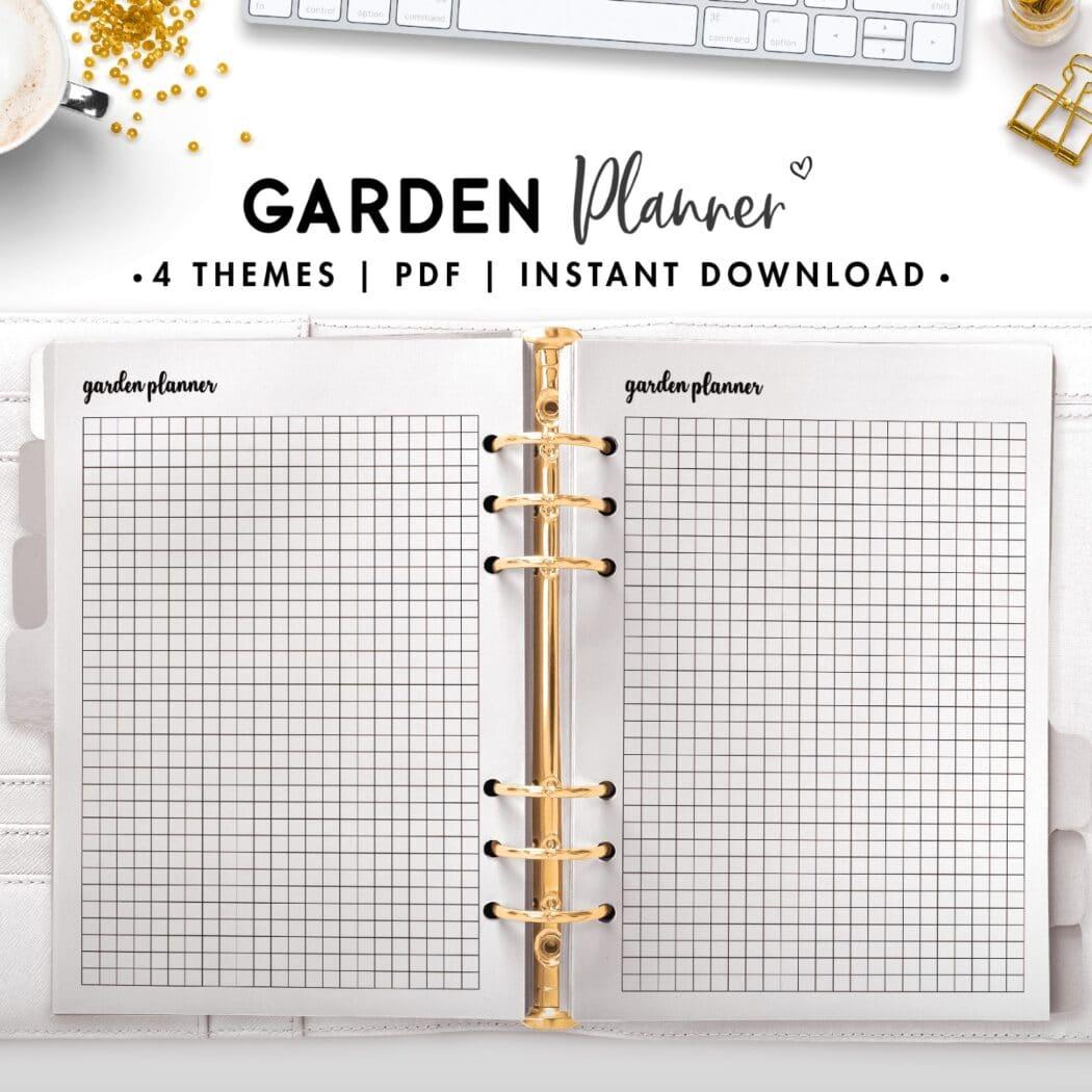 garden planner - cursive