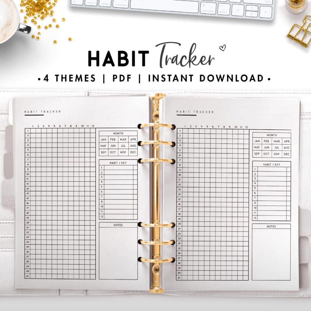 habit tracker - classic