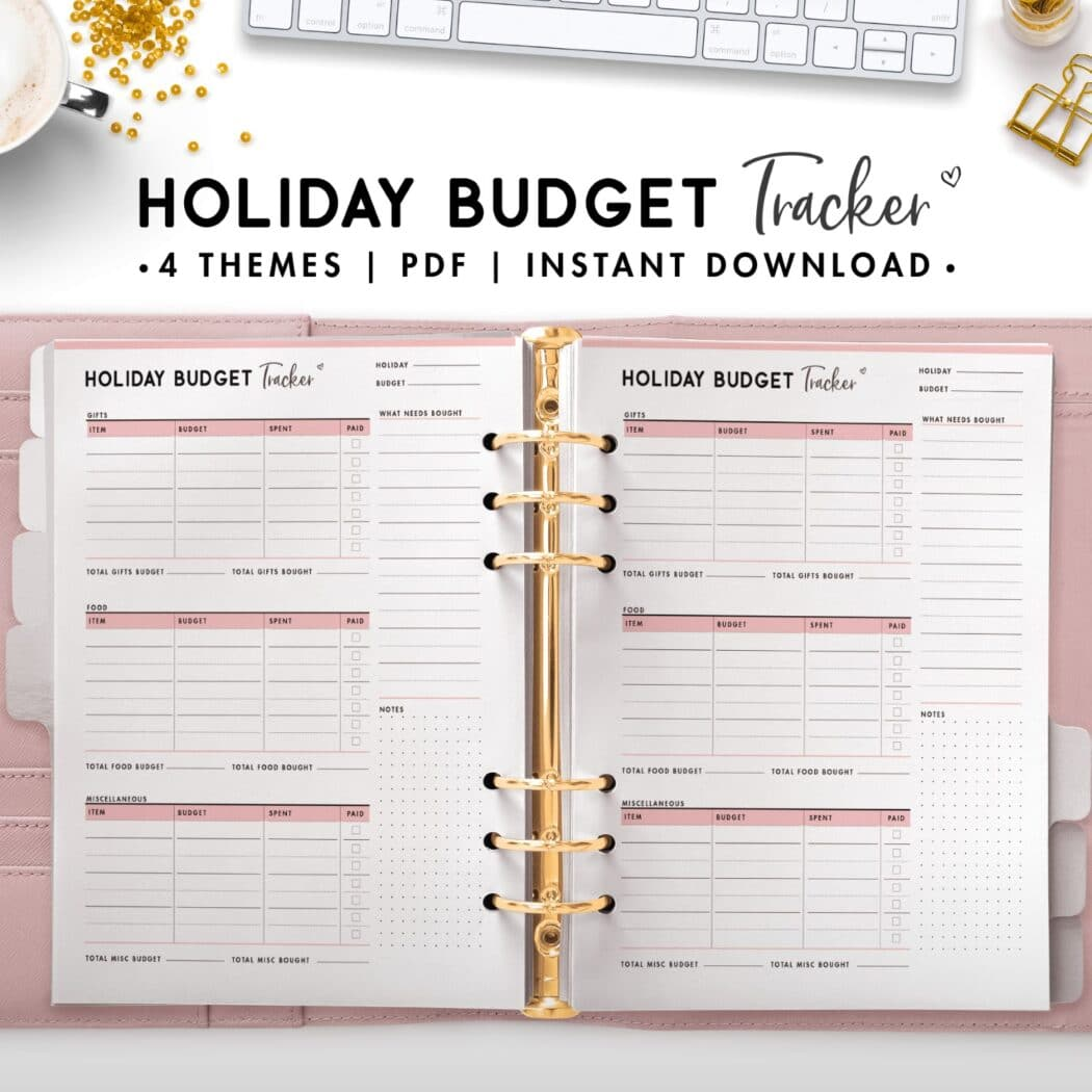 holiday budget tracker - soft