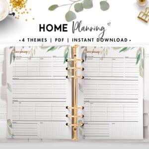 home planning - botanical
