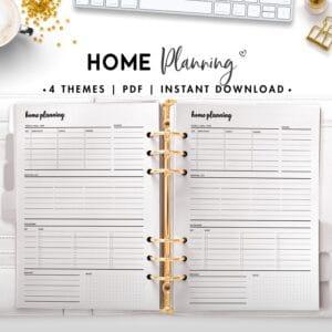 home planning - cursive