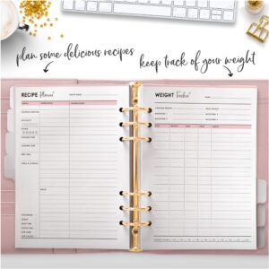 plan some delicious recipes keep track of your weight