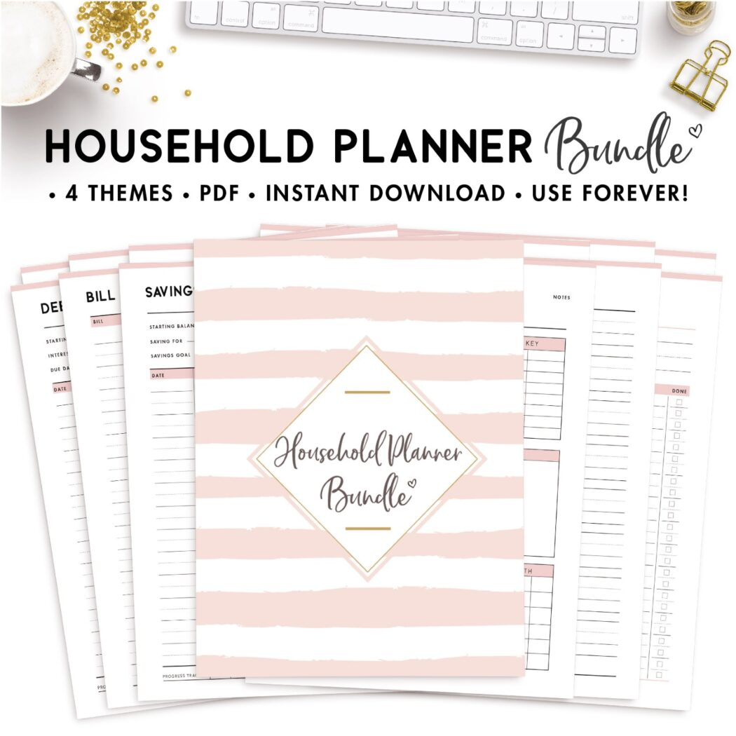 household planner bundle