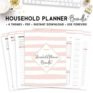 household planner bundle