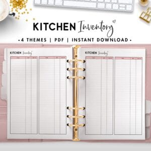 kitchen inventory - soft