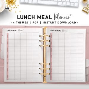 lunch meal planner - soft