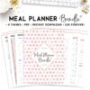 meal planner bundle