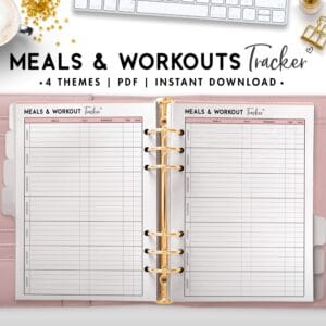 meals and workouts tracker - soft
