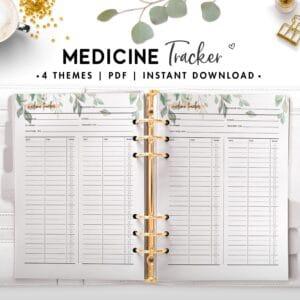 medicine tracker - botanical