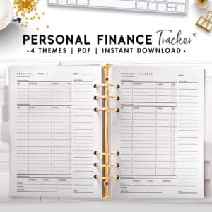 personal finance tracker - classic
