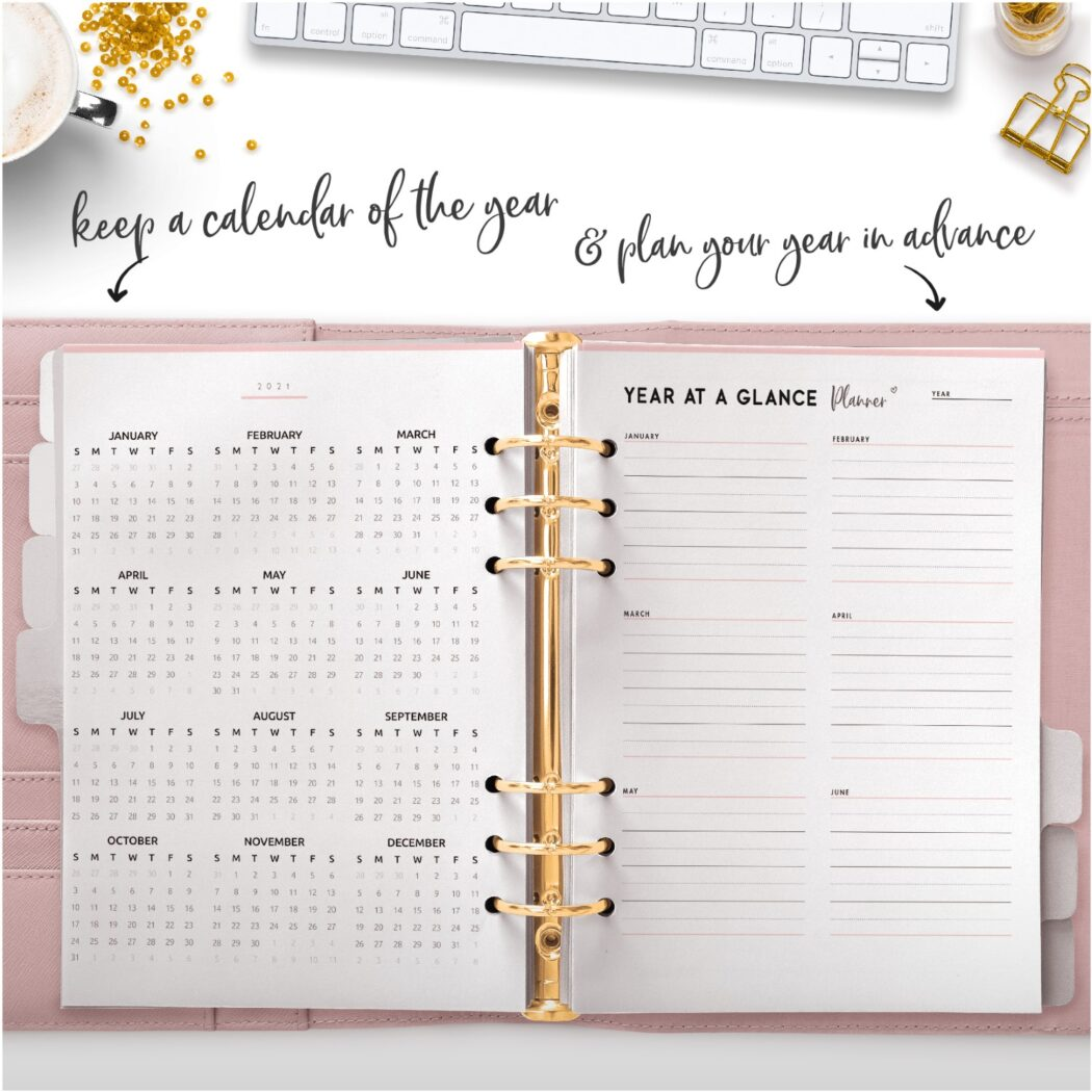 keep a calendar of the year and plan your year in advance
