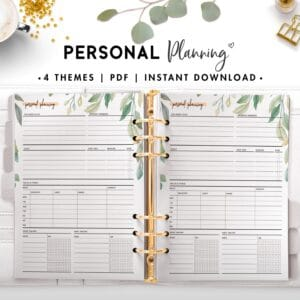 personal planning - botanical