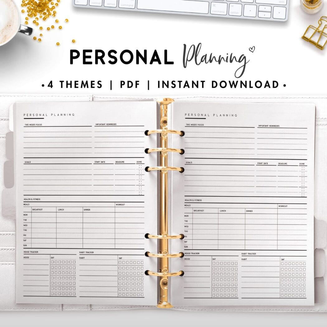 personal planning - classic
