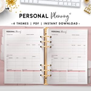 personal planning - soft