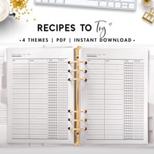 recipes to try - classic
