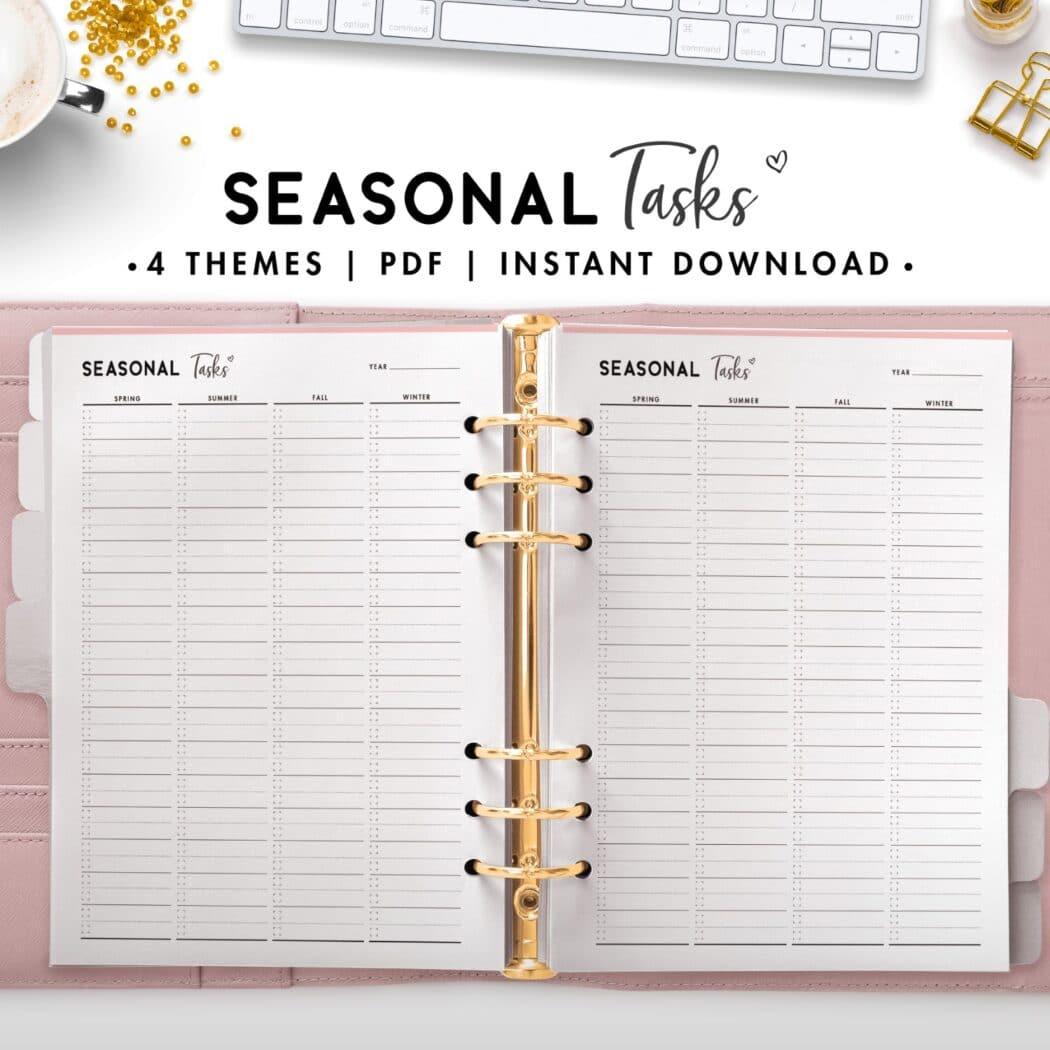 seasonal tasks - soft