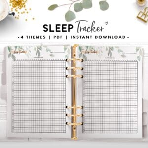 sleep tracker - botanical