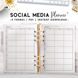social media planner - classic