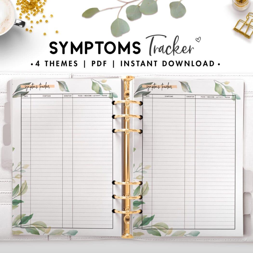 symptoms tracker - botanical