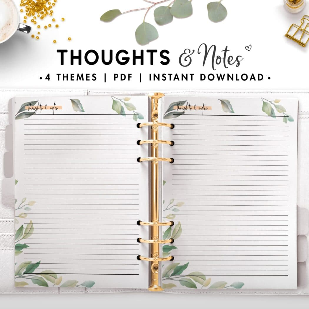 thoughts and notes - botanical