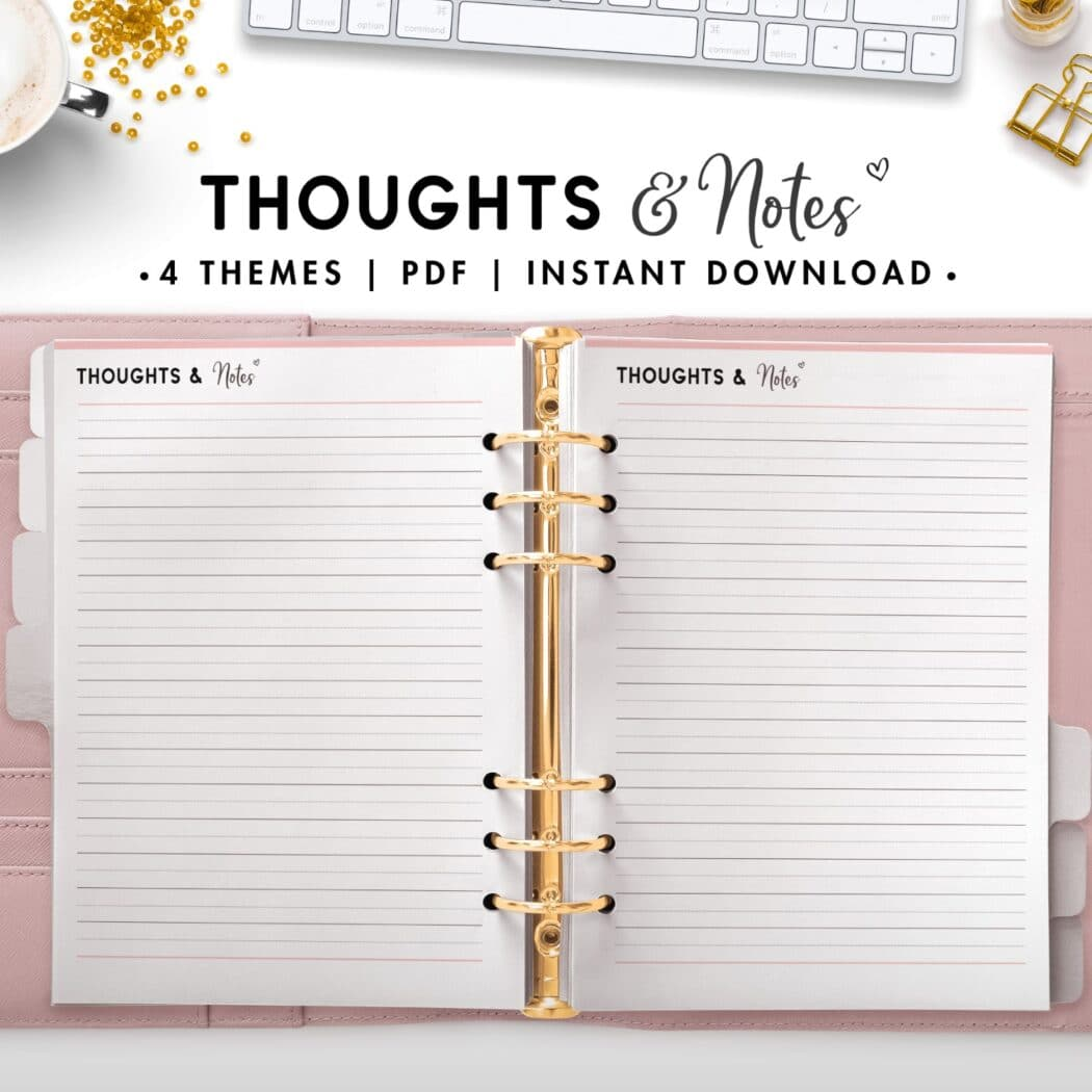 thoughts and notes - soft