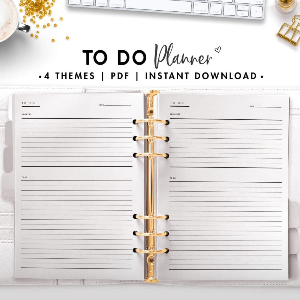 to do planner - classic