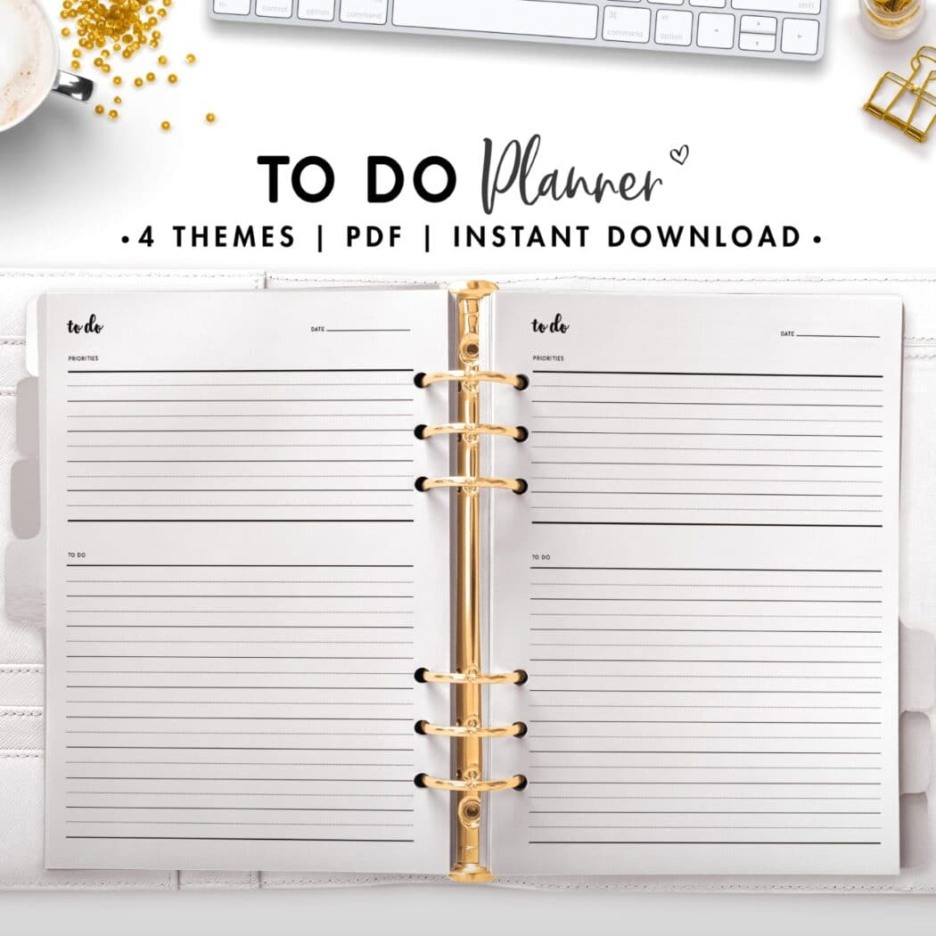 to do planner - cursive