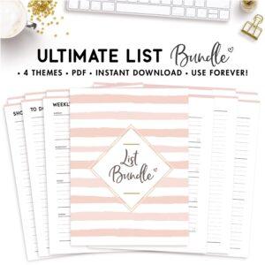 ultimate list bundle