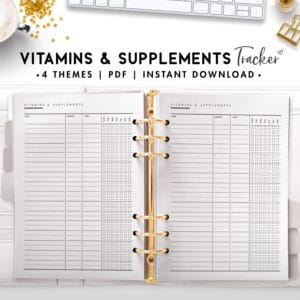 vitamins and supplements - classic